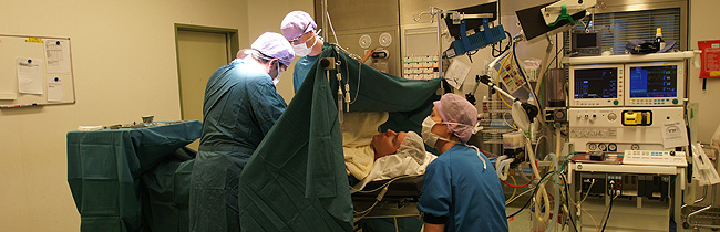 zwelling na liesbreukoperatie